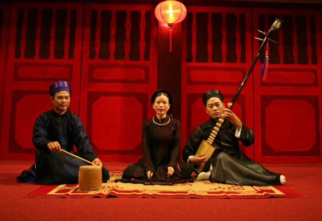 quoi faire à hanoi : musique folklorique Ca trù