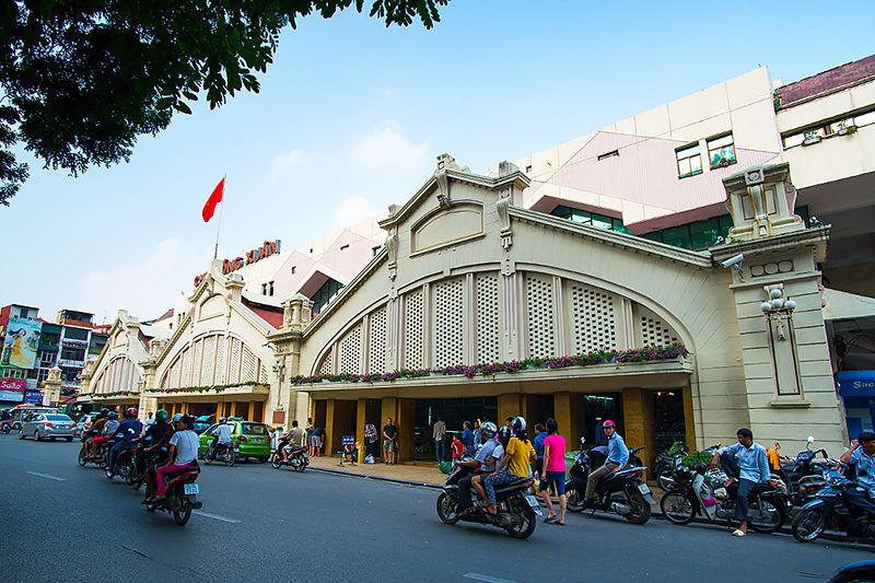 découvrir hanoi : marché de dong xuan