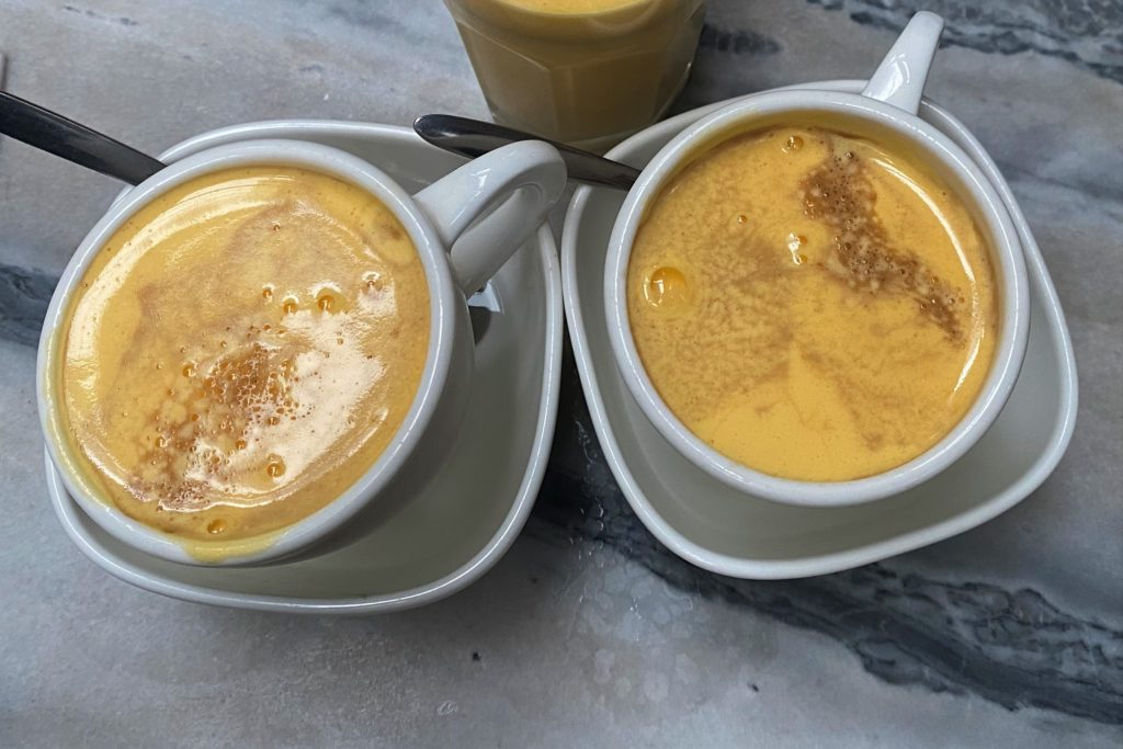 café à l'œuf Hanoï
