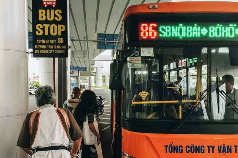 bus n° 86 hanoi