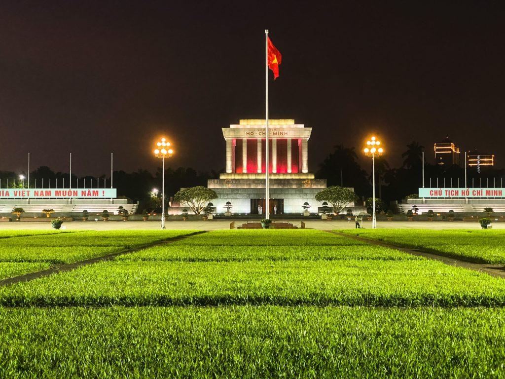 ou dormir à hanoi : Mausolée Ho-Chi-Minh