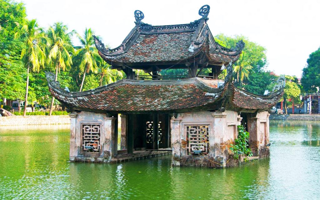 que faire à hanoi : la pagode thay