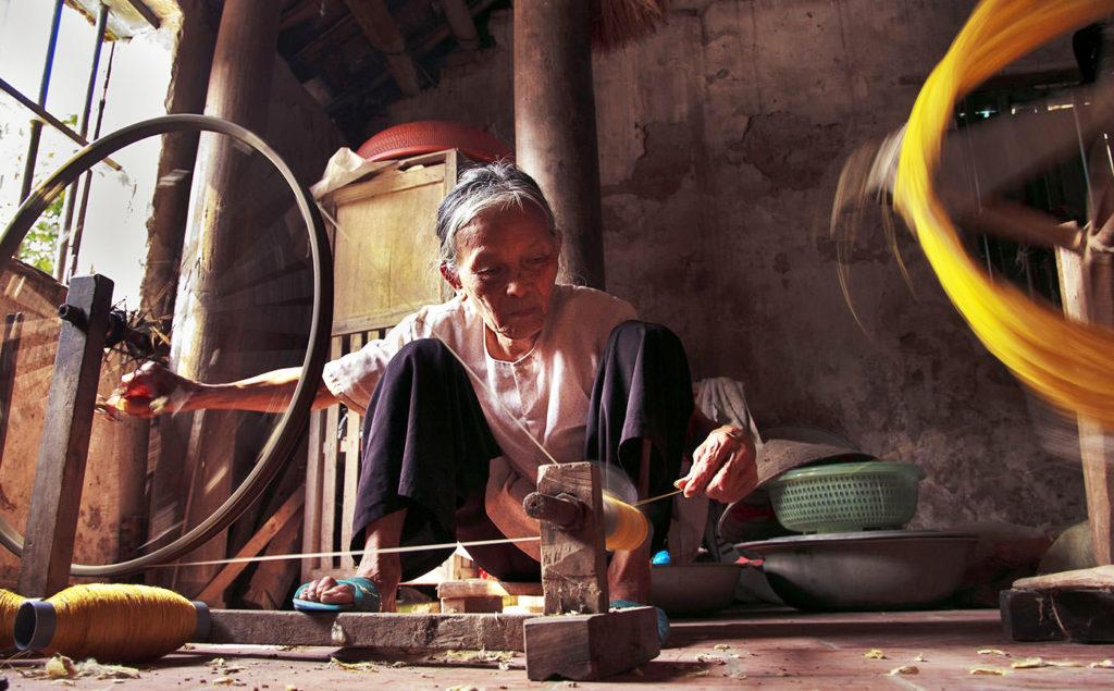 Que faire à hanoi : village de la soie